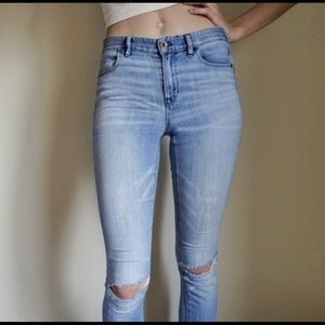 Madewell hokey skinny jeans